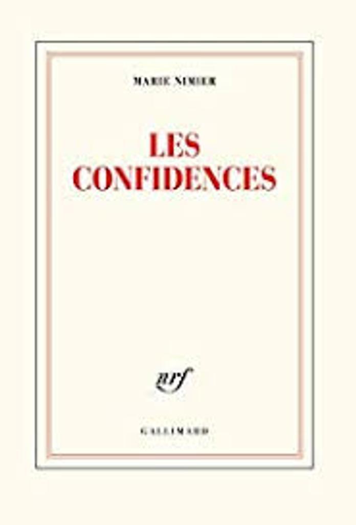 Les confidences / Marie Nimier |