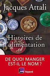 Histoires de l'alimentation : de quoi manger est-il le nom ? / Jacques Attali   Attali, Jacques