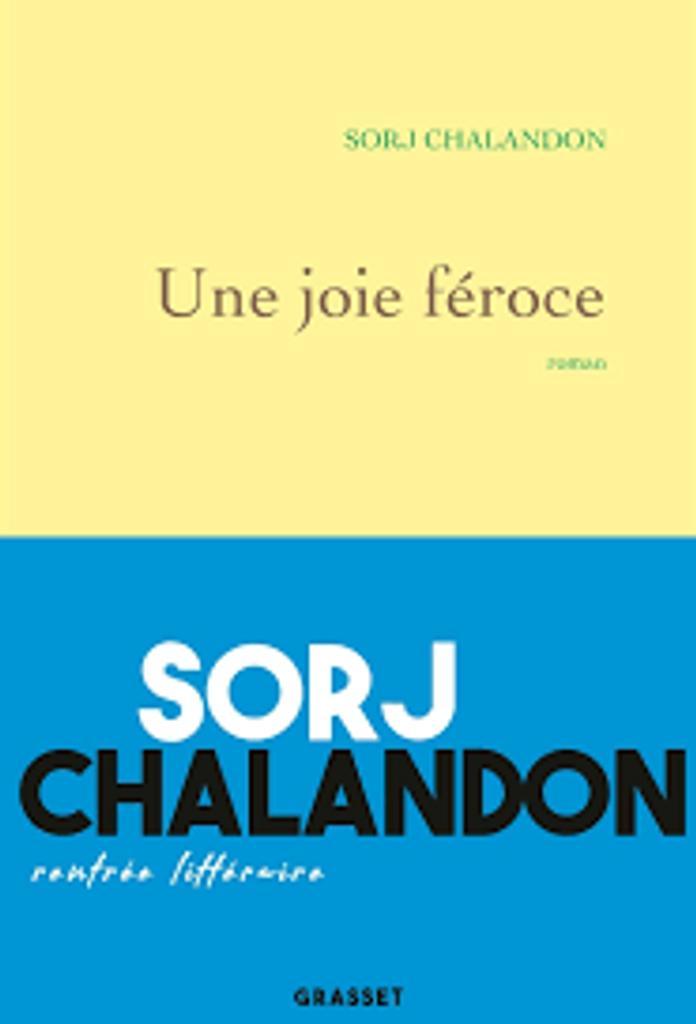 Une joie féroce : roman / Sorj Chalandon |