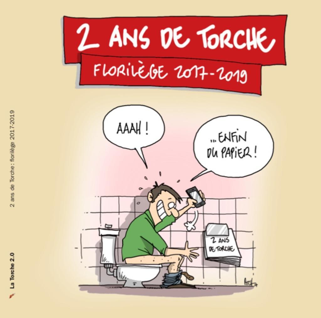 2 [deux] ans de Torche : Florilège 2017-2019 / Dessins de Pitch, Pigr et Brac  