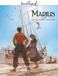 Marius : 1re partie / illustrateur Sébastien Morice, scénariste Serge Scotto, scénariste Eric Stoffel | Huebsch, Eric. Illustrateur