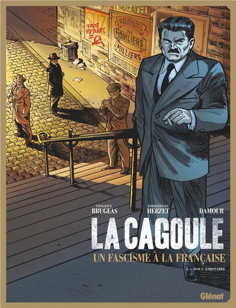 Bouc émissaire / scénario Vincent Brugeas, Emmanuel Herzet ; dessin Damour  