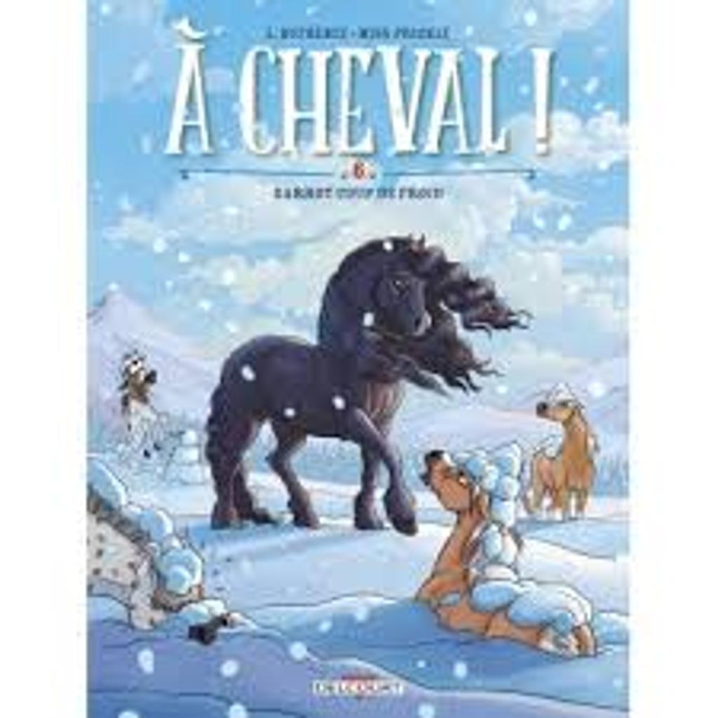 Garrot coup de froid / scénariste Laurent Dufreney, illustrateur Miss Prickly  