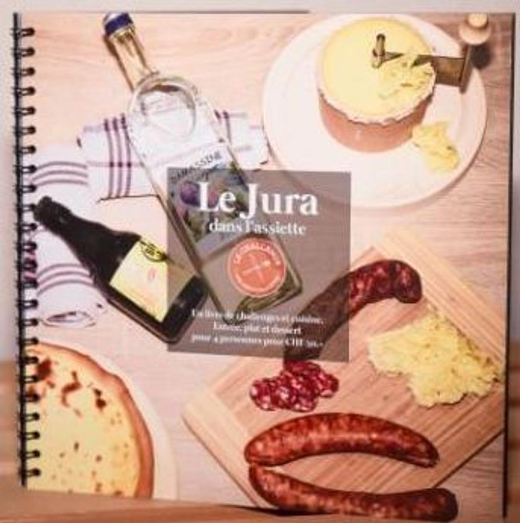 Le Jura dans l'assiette : challenge aux restaurateurs : réaliser un menu pour 4 personnes pour un prix de revient de moins de 50.- en cuisinant des produits du terroir |