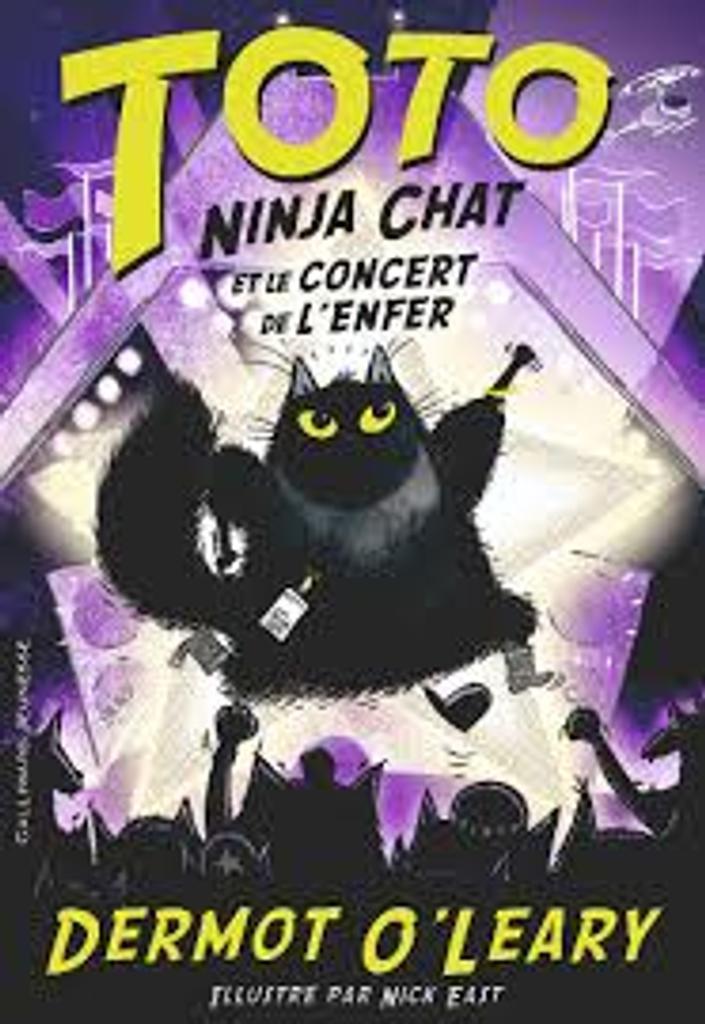 Toto Ninja chat et le concert de l'enfer |
