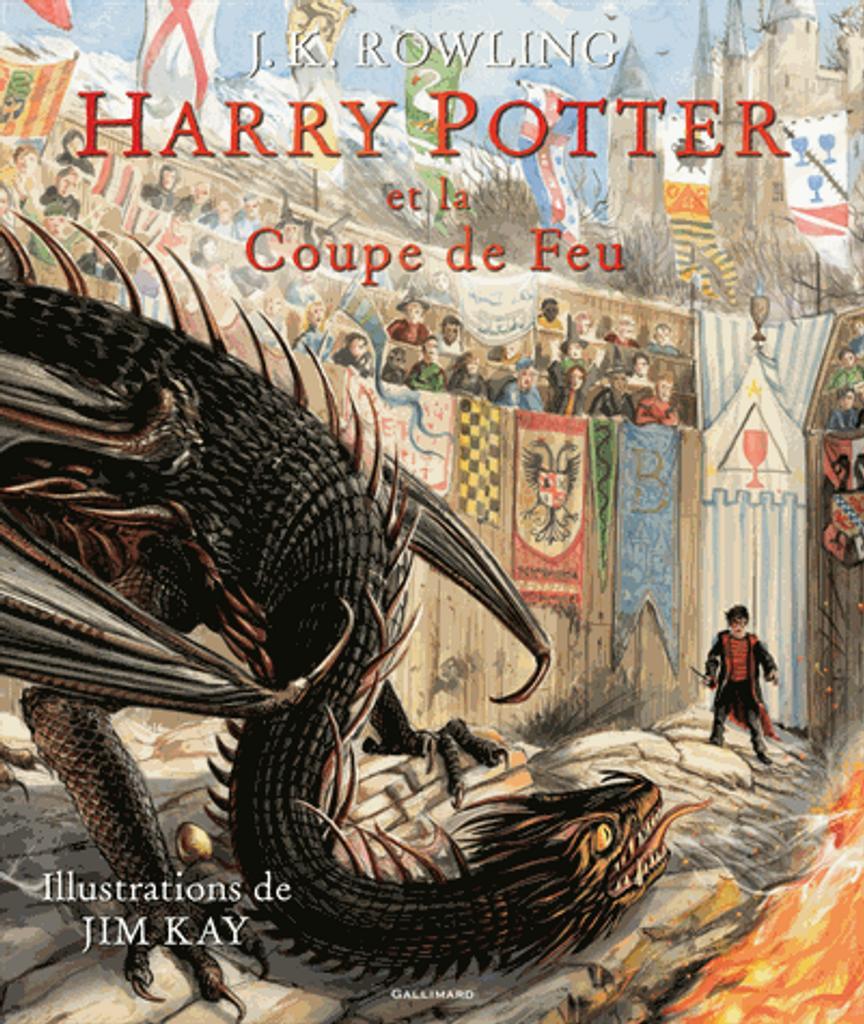 Harry Potter et la coupe de feu : Grand format / Joanne Kathleen Rowling, illustrateur Jim Kay |