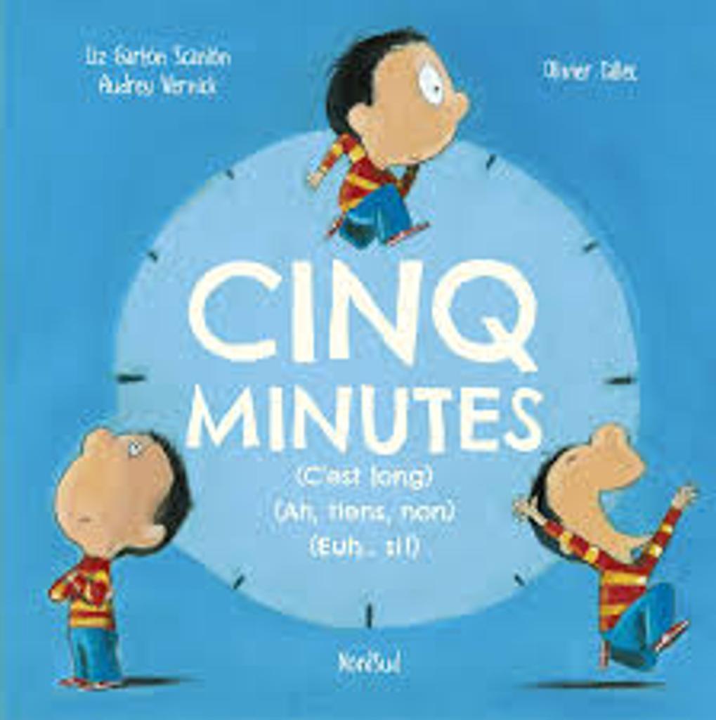 Cinq [5] minutes [c'est long] [Ah, tiens, non] [Euh...si !] |