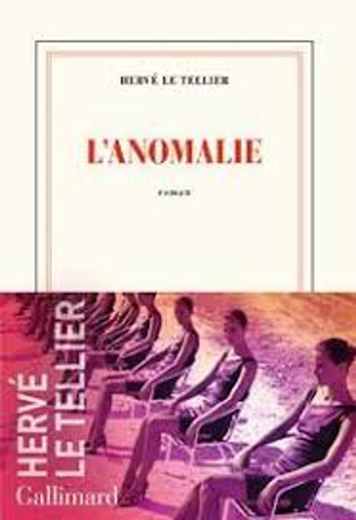 L'anomalie : roman / Hervé Le Tellier  