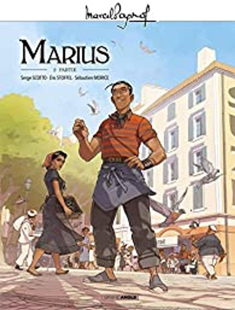 Marius : 2e partie / illustrateur Sébastien Morice, scénariste Serge Scotto, scénariste Eric Stoffel |