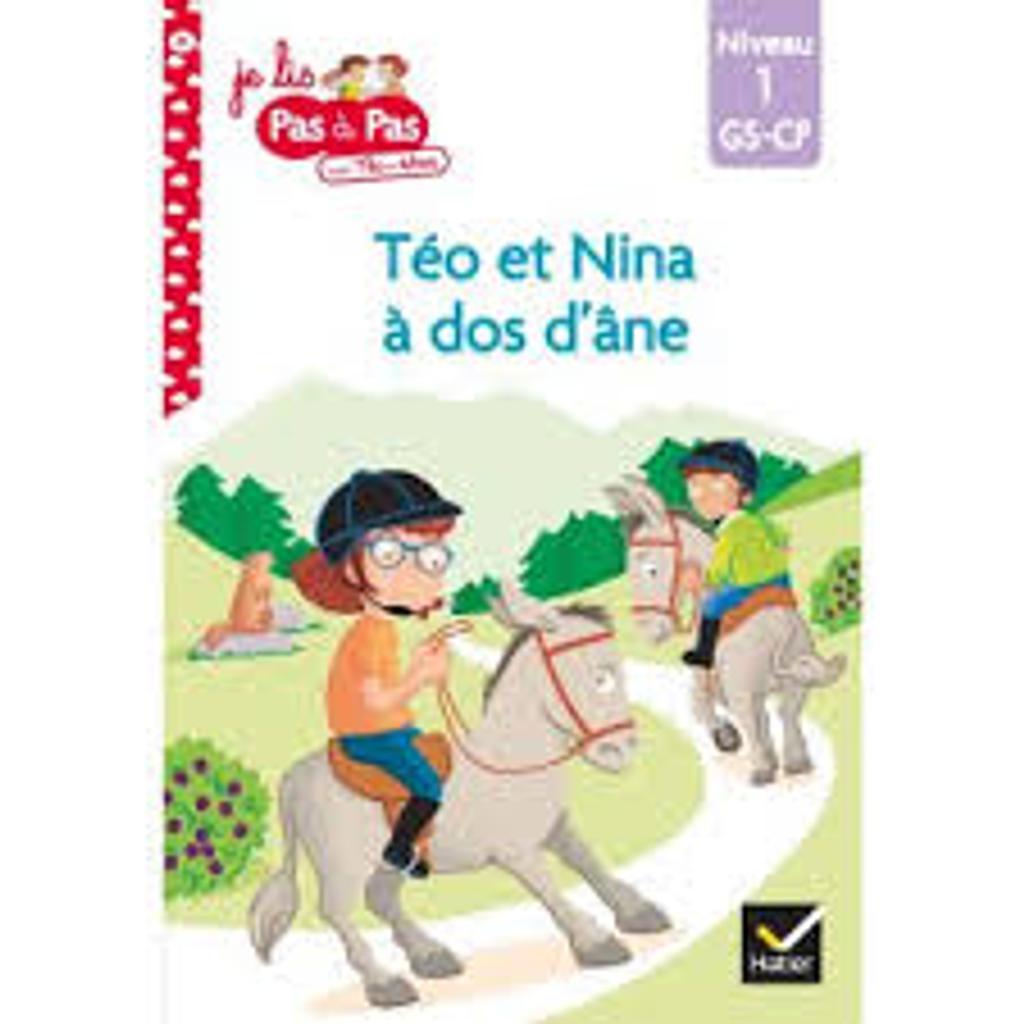 Téo et Nina à dos d'âne |