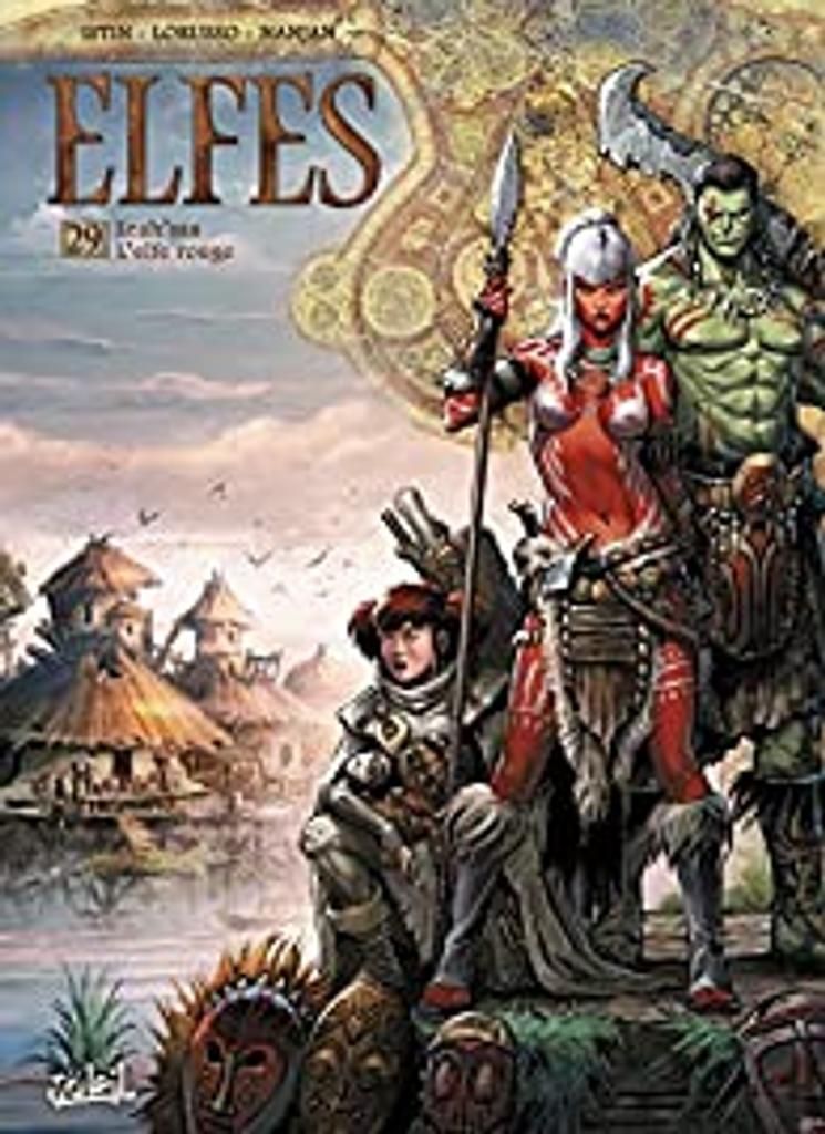 Lea'saa l'Elfe rouge / scénario J.L. Istin, dessin Lorusso |