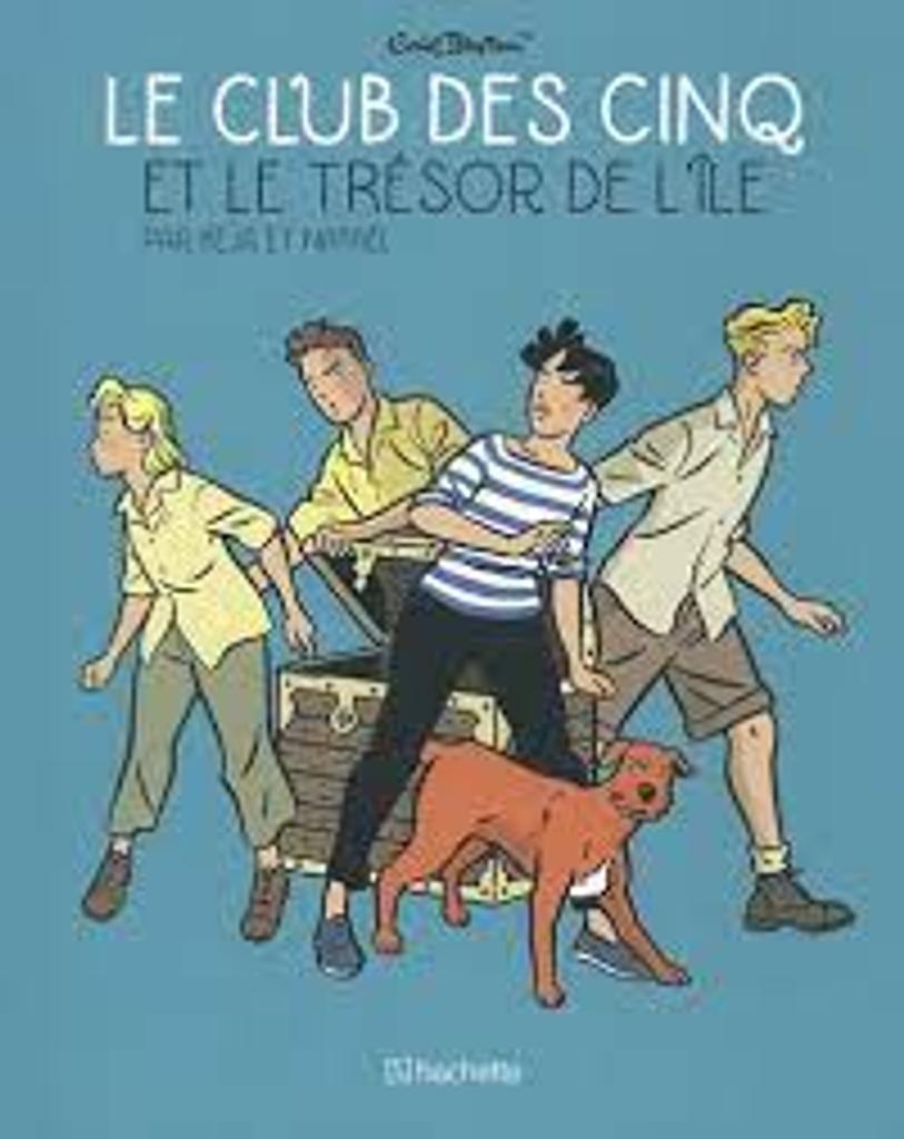 Le Club des cinq [5] et le trésor de l'île : en BD |