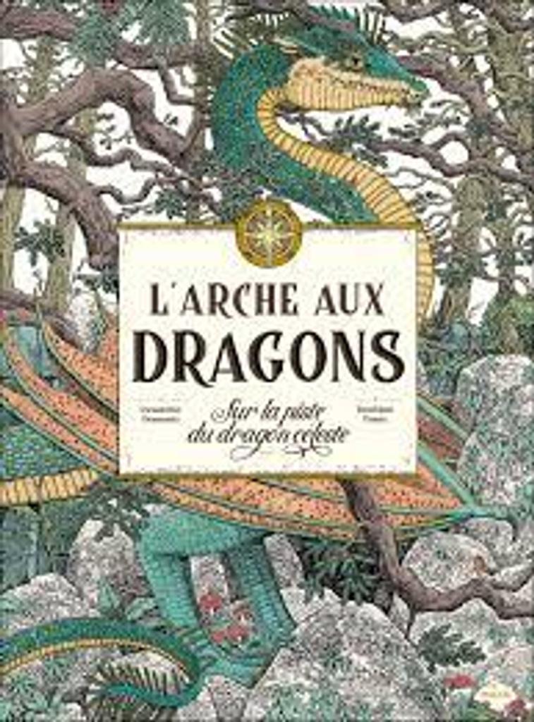L'arche aux dragons : Sur la piste du dragon céleste |