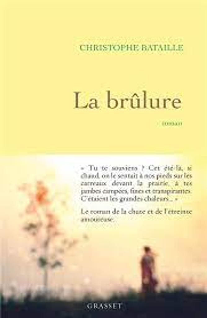 La brûlure : roman / Christophe Bataille |