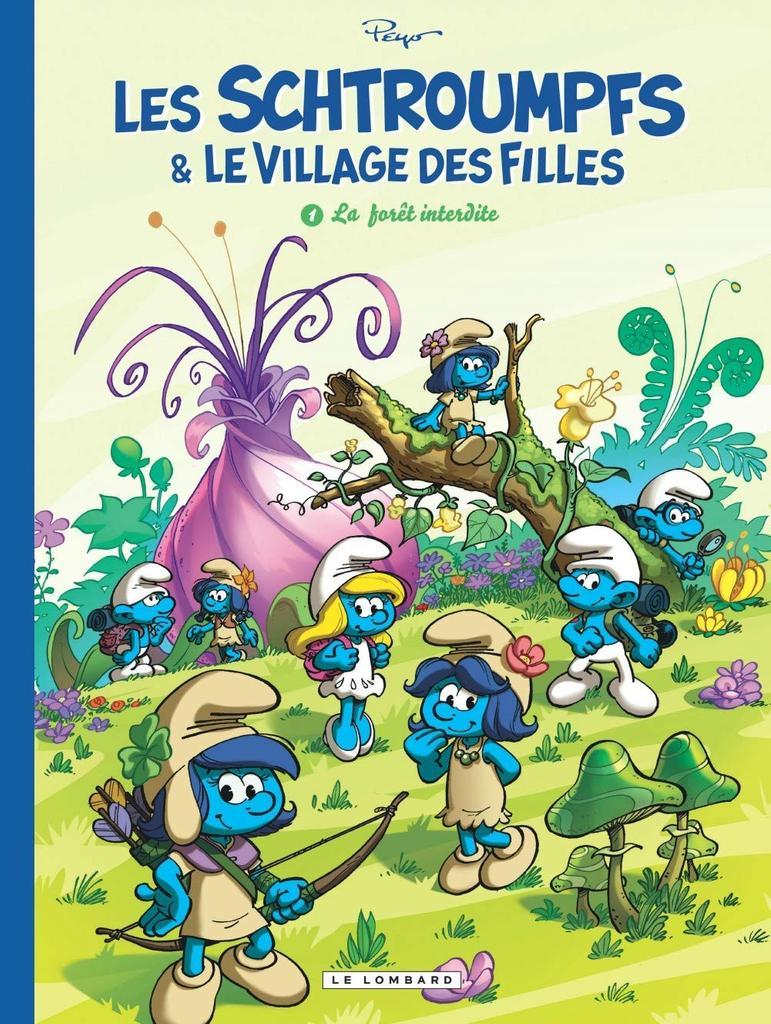 La forêt interdite / Peyo, scénariste Alain Jost, illustrateur Luc Parthoens |